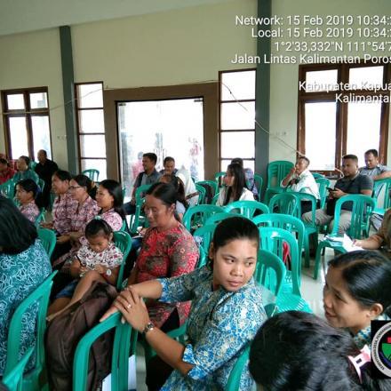 Pembinaan Pelayanan Sosial Dasar (Posyandu dan PAUD)DI KEC. BATANG LUPAR,BADAU,EMPANANG DAN PURING K
