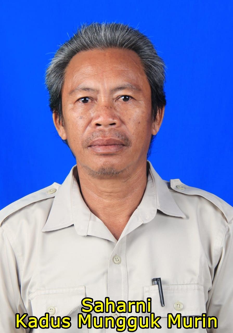 Kepala Dusun Mungguk Murin